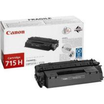 Canon CRG-715H BK fekete (BK-Black) nagy kapacitású eredeti (gyári, új) toner