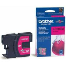 Brother LC980 MG bíbor (piros) (MG-Magenta) eredeti (gyári, új) tintapatron