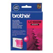 Brother LC1000 MG bíbor (piros) (MG-Magenta) eredeti (gyári, új) tintapatron