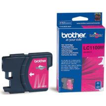 Brother LC1100 MG bíbor (piros) (MG-Magenta) eredeti (gyári, új) tintapatron