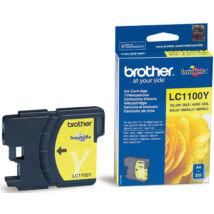 Brother LC1100 YL sárga (YL-Yellow) eredeti (gyári, új) tintapatron