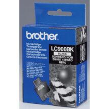 Brother LC900 BK fekete (BK-Black) eredeti (gyári, új) tintapatron