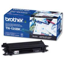 Brother TN-135 BK fekete (BK-Black) nagy kapacitású eredeti (gyári, új) toner