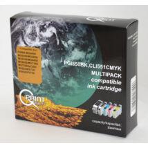Canon CLI-551/PGI-550 BCMY kompatibilis (utángyártott) multipack