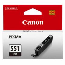 Canon CLI-551 BK fekete (BK-Black) eredeti (gyári, új) tintapatron