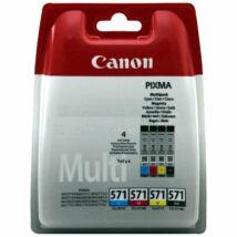 Canon CLI-571 Multipack (4 patronos) eredeti (gyári, új) tintapatron