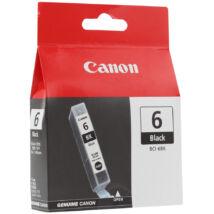 Canon BCI-6 BK fekete (BK-Black) eredeti (gyári, új) tintapatron