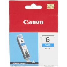 Canon BCI-6 CY cián (kék) (CY-Cyan) eredeti (gyári, új) tintapatron