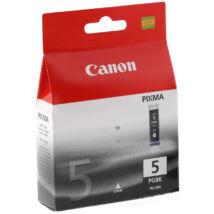 Canon PGI-5 BK fekete (BK-Black) eredeti (gyári, új) tintapatron