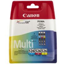 Canon CLI-526 CMY Multipack eredeti (gyári, új) tintapatron