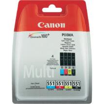 Canon CLI-551 Multipack eredeti (gyári, új) tintapatron