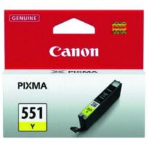 Canon CLI-551 YL sárga (YL-Yellow) eredeti (gyári, új) tintapatron