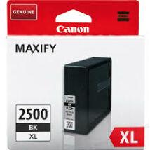 Canon PGI-2500 BK XL fekete (BK-Black) nagy kapacitású eredeti (gyári, új) tintapatron