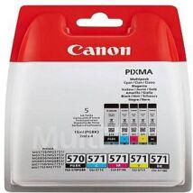 Canon PGI570/CLI571 Multipack (5 patronos) eredeti (gyári, új) tintapatron
