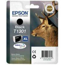 Epson T1301 BK XL fekete (BK-Black) nagy kapacitású eredeti (gyári, új) tintapatron