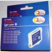 Epson T0485 LC v. cián (LC-Light Cyan) kompatibilis (utángyártott) tintapatron