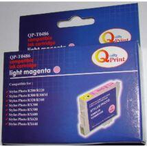 Epson T0486 LM v.magenta (LM-Light Magenta) kompatibilis (utángyártott) tintapatron