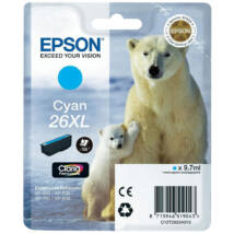 Epson T2632 (No.26 XL) CY cián (kék) (CY-Cyan) nagy kapacitású eredeti (gyári, új) tintapatron