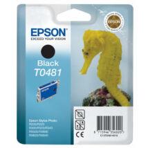 Epson T0481 BK fekete (BK-Black) eredeti (gyári, új) tintapatron