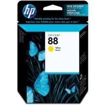 HP C9388A (No.88) YL sárga (YL-Yellow) eredeti (gyári, új) tintapatron