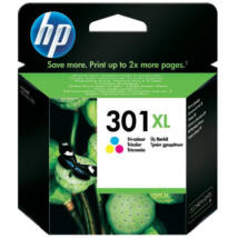 HP CH564EE (No.301 C XL) színes (C-Color) nagy kapacitású eredeti (gyári, új) tintapatron