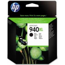 HP C4906A (No.940 XL) BK fekete (BK-Black) nagy kapacitású eredeti (gyári, új) tintapatron