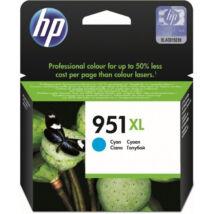 HP CN046AE (No.951 XL) CY cián (kék) (CY-Cyan) nagy kapacitású eredeti (gyári, új) tintapatron