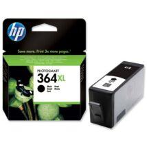HP CN684EE (No.364 XL) BK fekete (BK-Black) nagy kapacitású eredeti (gyári, új) tintapatron