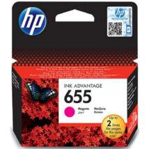 HP CZ111AE (No.655) MG bíbor (piros) (MG-Magenta) eredeti (gyári, új) tintapatron