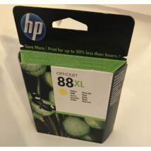 !AKCIÓS! HP C9393A (No.88 XL) YL sárga (YL-Yellow) nagy kapacitású eredeti (gyári, új) tintapatron (lejárt)