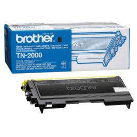 Brother TN-2000 BK fekete (BK-Black) eredeti (gyári, új) toner