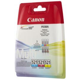 Canon CLI-521 CMY Multipack eredeti (gyári, új) tintapatron