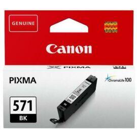 Canon CLI-571 BK fekete (BK-Black) eredeti (gyári, új) tintapatron