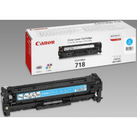 Canon CRG-718 CY cián (kék) (CY-Cyan) eredeti (gyári, új) toner