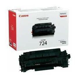 Canon CRG-724 BK fekete (BK-Black) eredeti (gyári, új) toner