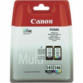 Canon PG-545 + CL-546 Multipack  (BK-Color) eredeti (gyári, új) multipack