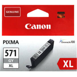 Canon CLI-571 GY XL szürke (GY-Gray) nagy kapacitású eredeti (gyári, új) tintapatron