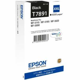 Epson T7891 BK fekete (BK-Black) eredeti (gyári, új) tintapatron