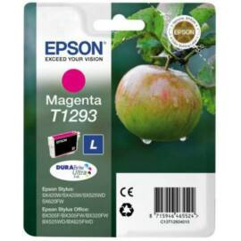 Epson T1293 MG bíbor (piros) (MG-Magenta) eredeti (gyári, új) tintapatron