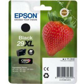 Epson T2991 (No.29 XL) BK fekete (BK-Black) nagy kapacitású eredeti (gyári, új) tintapatron