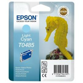Epson T0485 LC v.cián (v.kék) (LC-Light Cyan) eredeti (gyári, új) tintapatron