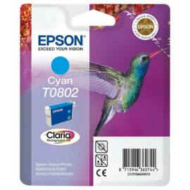Epson T0802 CY cián (kék) (CY-Cyan) eredeti (gyári, új) tintapatron
