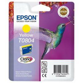 Epson T0804 YL sárga (YL-Yellow) eredeti (gyári, új) tintapatron