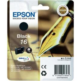 Epson T1621 (No.16) BK fekete (BK-Black) eredeti (gyári, új) tintapatron