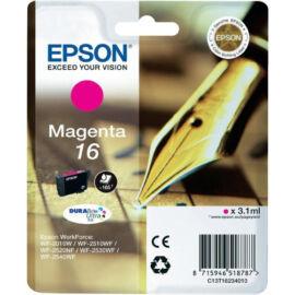 Epson T1623 (No.16) MG bíbor (piros) (MG-Magenta) eredeti (gyári, új) tintapatron
