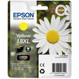 Epson T1814 (No.18 XL) YL sárga (YL-Yellow) nagy kapacitású eredeti (gyári, új) tintapatron