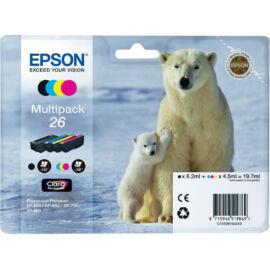 Epson T2616 (No.26) Multipack eredeti (gyári, új) tintapatron