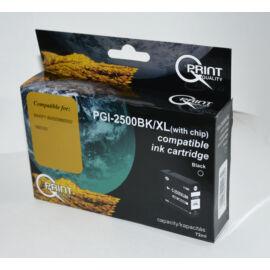 Canon PGI-2500 BK XL fekete (BK-Black) nagy kapacitású kompatibilis (utángyártott) tintapatron