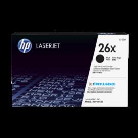 HP CF226X (No.26X) fekete (BK-Black) nagy kapacitású eredeti (gyári, új) toner