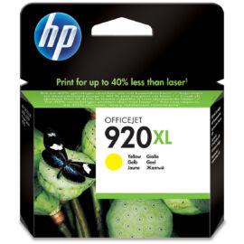 HP CD974A (No.920 XL YL) sárga (YL-Yellow) nagy kapacitású eredeti (gyári, új) tintapatron